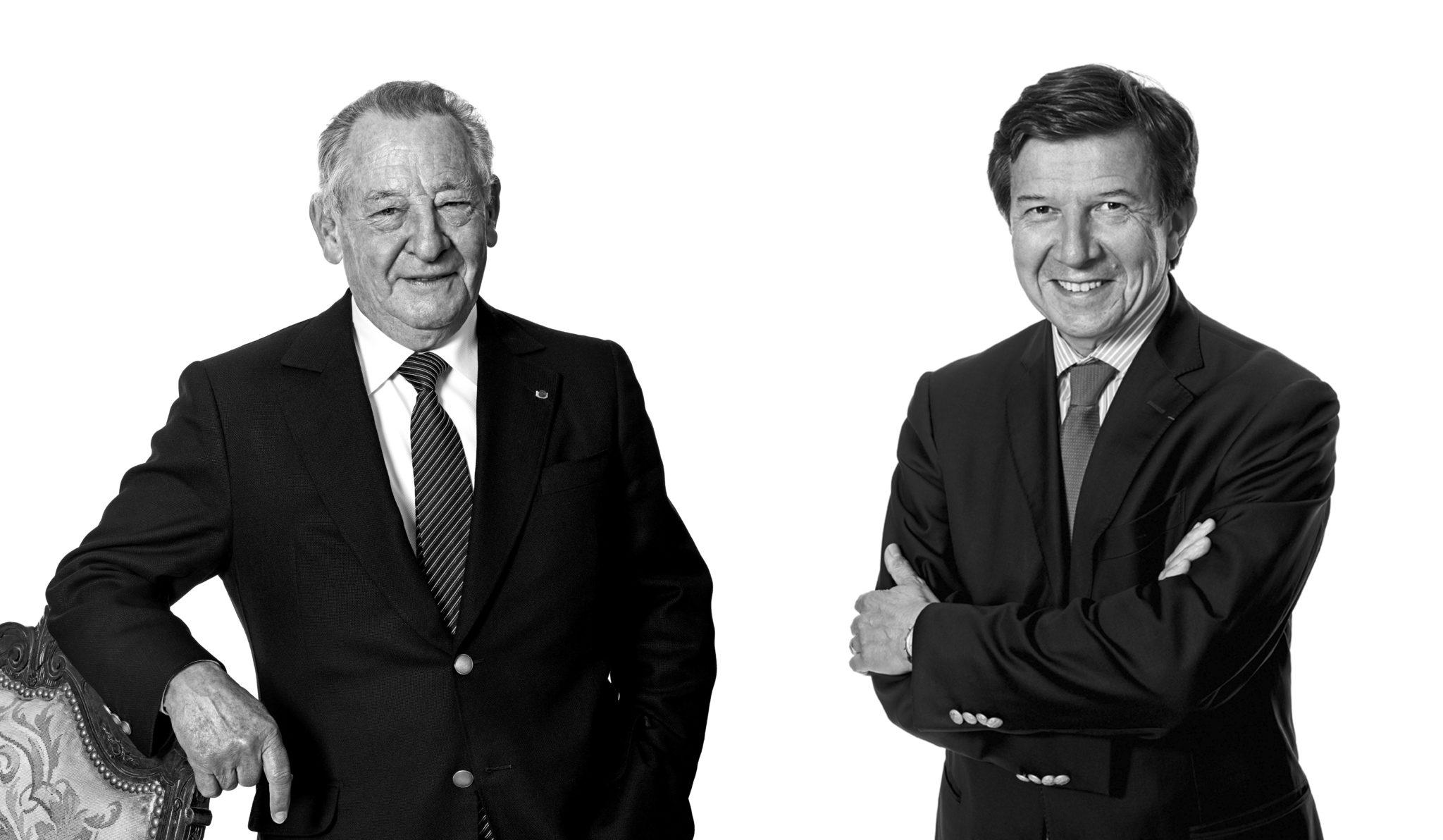 Gérard et Gilles Pélisson