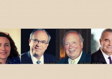 Quatre nominations au Comité Exécutif de la Fondation G&G Pélisson pour l'Institut Paul Bocuse