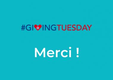 Giving Tuesday – Journée mondiale de la générosité