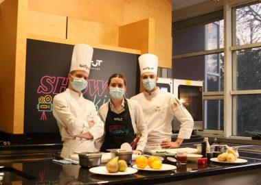 Les étudiants de l'Institut Paul Bocuse vous invitent à leur «Show Cooking»